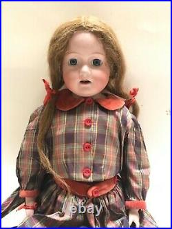 Vintage Rare Morimura Brothers 27 Dolly Face Bisque Composition Doll