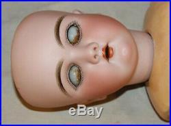 Wonderful Antique 22 Heinrich Handwerck #109 DEP German Bisque Doll