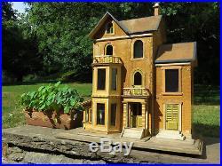 Wonderful Antique German Christian Hacker Dollhouse Dolls' House Puppenhaus