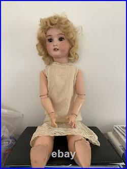 Wonderful Antique/Vintage Adolf Wilsizenus Bisque Doll